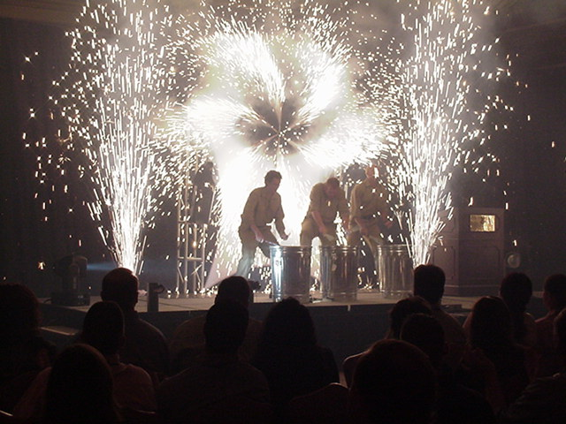 indoor pyrotechnic effects
